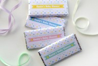 Personalised Chocolate Bars – Baby Shower