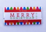 Personalised Chocolate Bars – Retro Bright